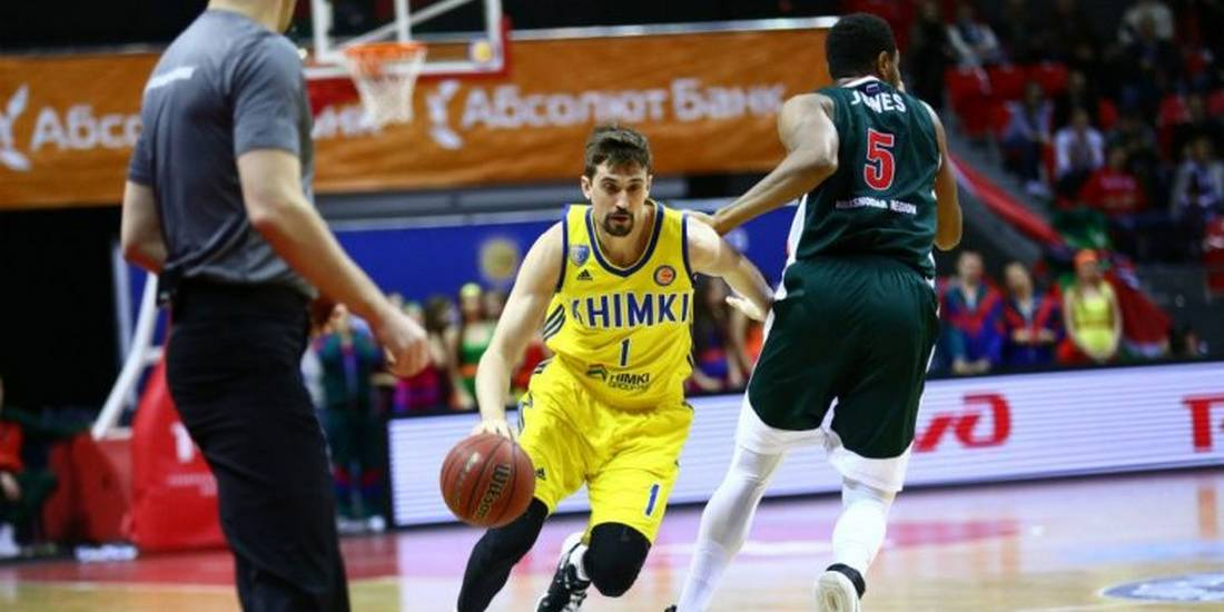 Clutch Shved leads Khimki Moscow to road win over Lokomotiv Kuban
