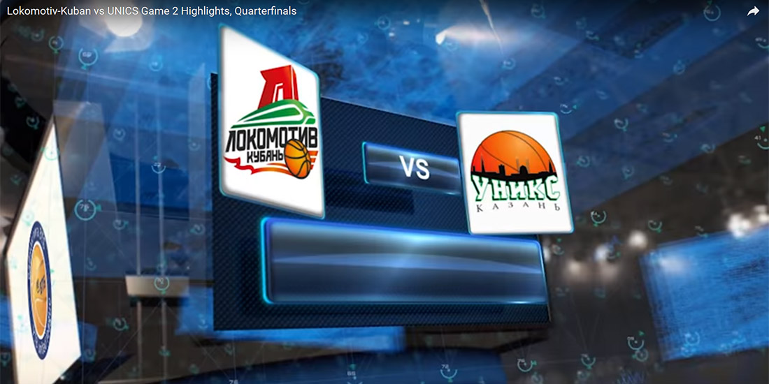 Lokomotiv Kuban vs UNICS Game 2
