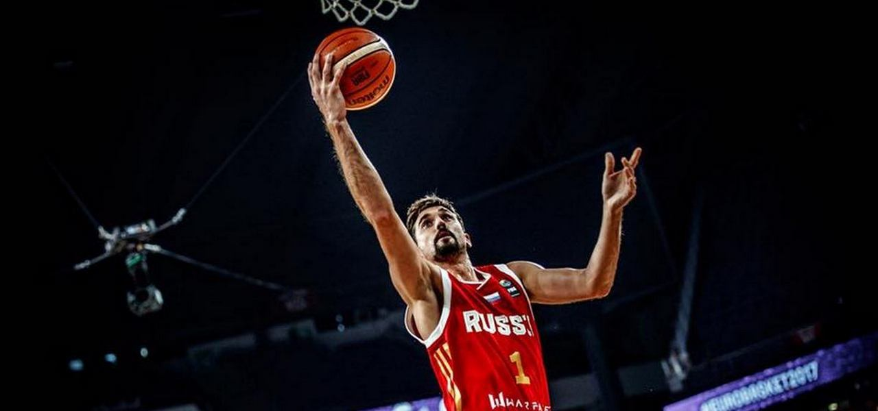 Alexey Shved selected to<br>Eurobasket 2017 All-Star team!
